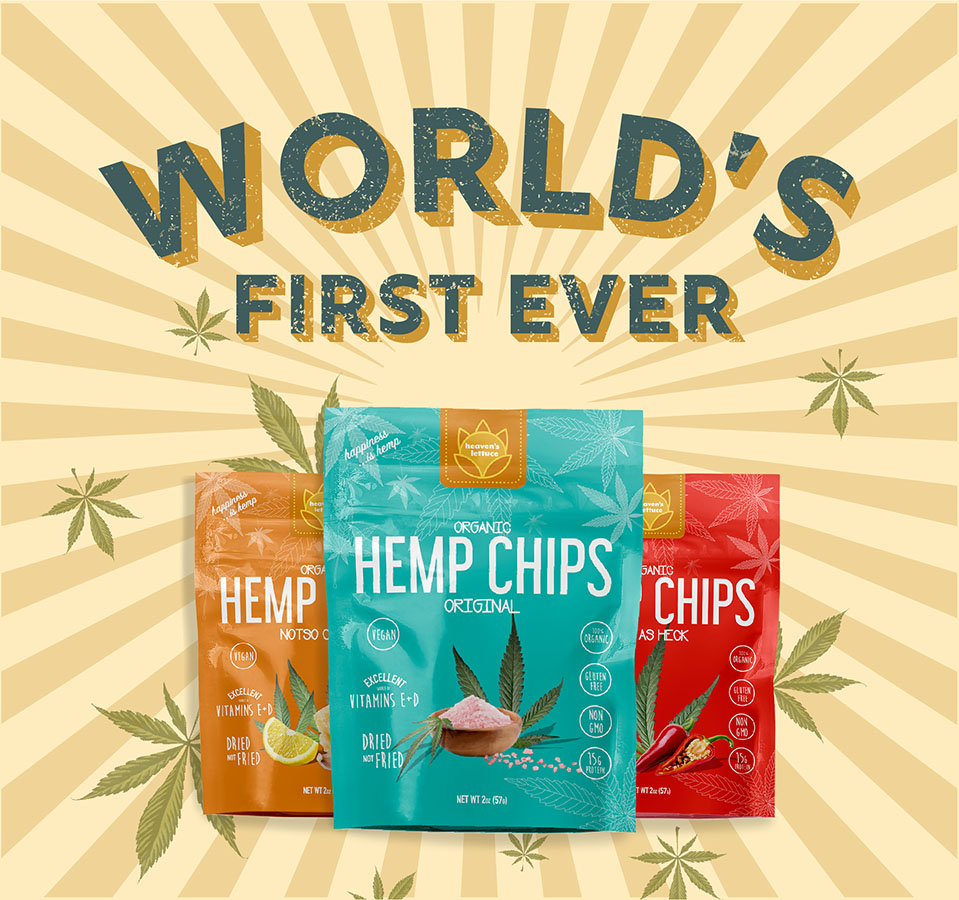 Heaven's Lettuce™ Hemp Chips
